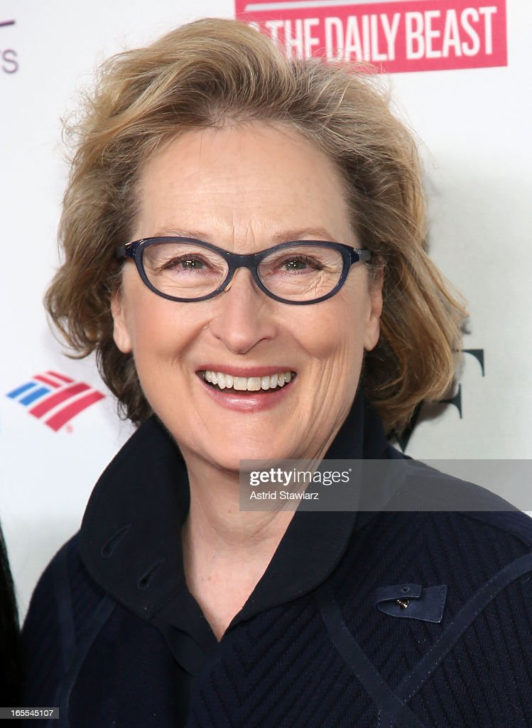 Meryl Streep attends Women in the World Summit 2013 on April 4, 2013 in New York, United States.
