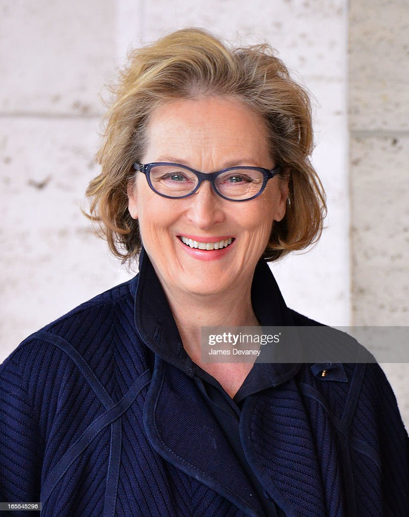 Meryl Streep attends Women in the World Summit 2013 on April 4, 2013 in New York City.