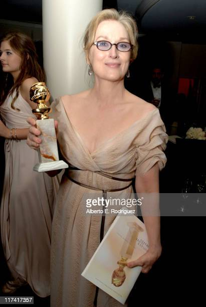 Meryl Streep during Fox Searchlight's 2007 Golden Globe After Party in Los Angeles California United States
