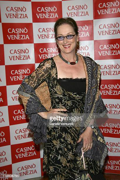 "Meryl Streep during The 63rd International Venice Film Festival - ""The Devil Wears Prada"" - Party in Venice, Italy."