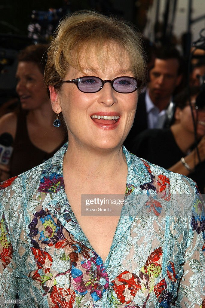 Meryl Streep during 'The Manchurian Candidate' Los Angeles Premiere at The Academy in Beverly Hills, California, United States.