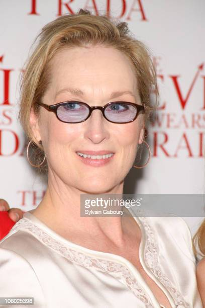 "Meryl Streep during Twentieth Century Fox Premiere of ""The Devil Wears Prada"" - Arrivals at AMC Loews Lincoln Square at 1998 Broadway on 68th Street..."