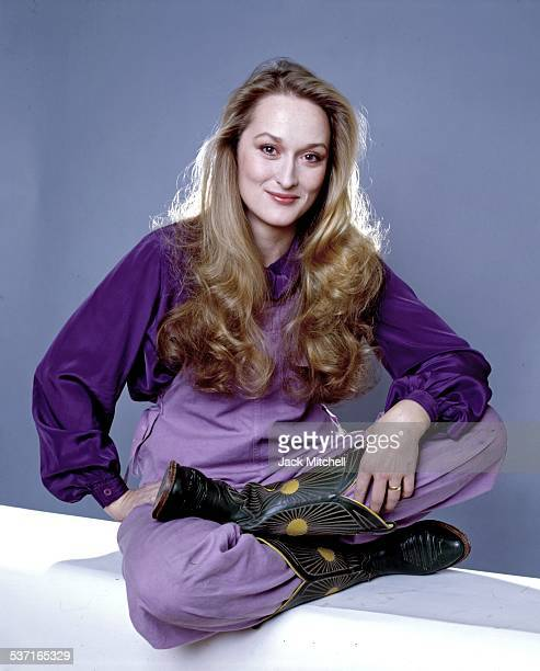 Meryl Streep photographed in 1979