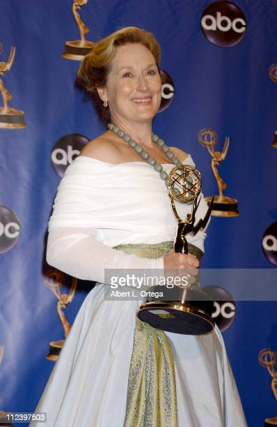 Meryl Streep winner of Outstanding Lead Actress in a Miniseries or a Movie 'Angels in America'