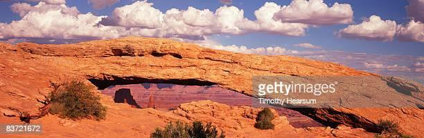 mesa arch - timothy hearsum stock-fotos und bilder