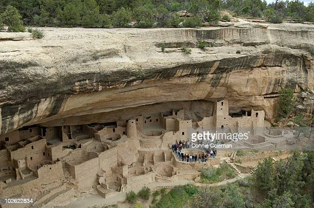Mesa Verde National Park cliff dwellings.
