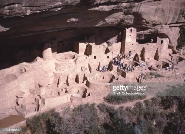 Mesa Verde National Park, Cliff Palace, 1965.
