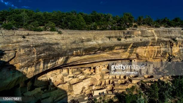 Mesa Verde National Park, Indian Ruins, Colorado.