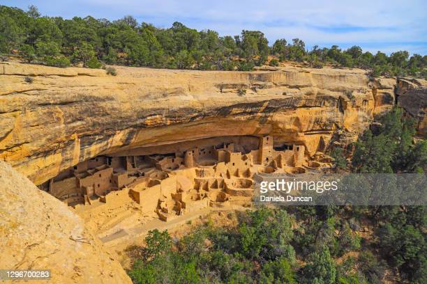 mesa verde national park - anasazi ruins stock pictures, royalty-free photos & images