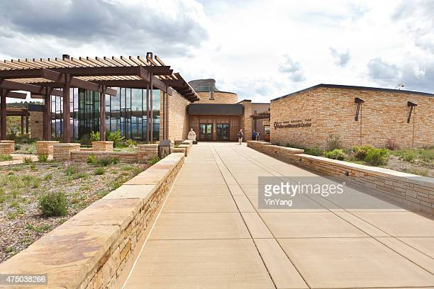 Mesa Verde National Park Visitor Center Entrance, Colorado