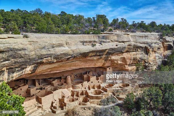 mesa verde national park,colorado,usa - cliff dwelling stock pictures, royalty-free photos & images