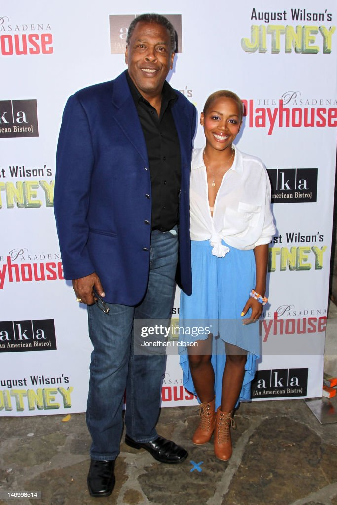 Meshach Taylor and Esme Taylor attend the Opening Night Performance Of August Wilson's 'Jitney' At The Pasadena Playhouse at Pasadena Playhouse on June 24, 2012 in Pasadena, California.