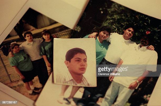 MEsilva20317CW Timoteo Silva center was brutally murdered while in the custody of the California Youth Authority Silva's mother Antonia Silva far...