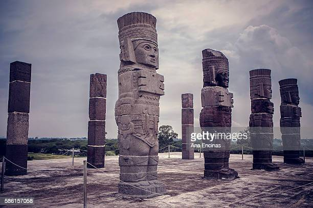 Mesoamerican site. Tula, Hidalgo.