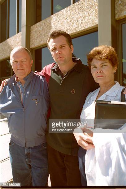MESobek#1IS10/25 Linda Sobek's parents Elaine and Bob and her brother Steve during lunch break at the murder trial of Charles Rathbun accused of...
