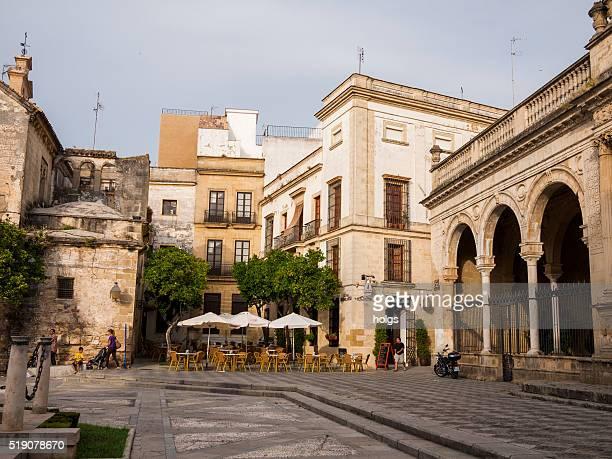 meson el cabildo in jerez, spain - jerez de la frontera stock pictures, royalty-free photos & images