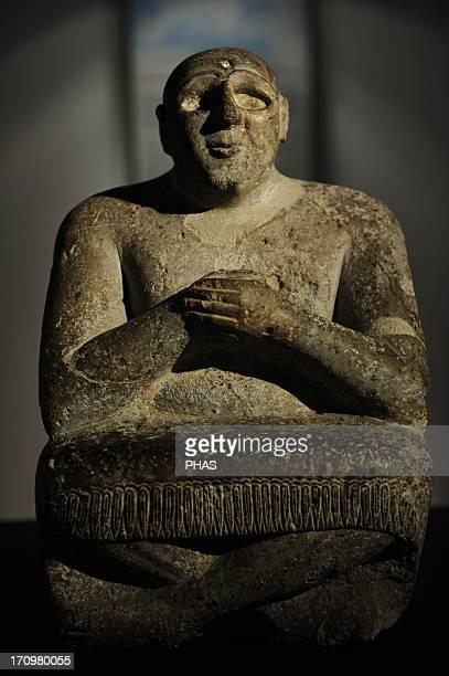 Mesopotamian Art Sumerian ruler 3rd Millenium BC Ny Carlsberg Glyptotek Copenhagen Denmark