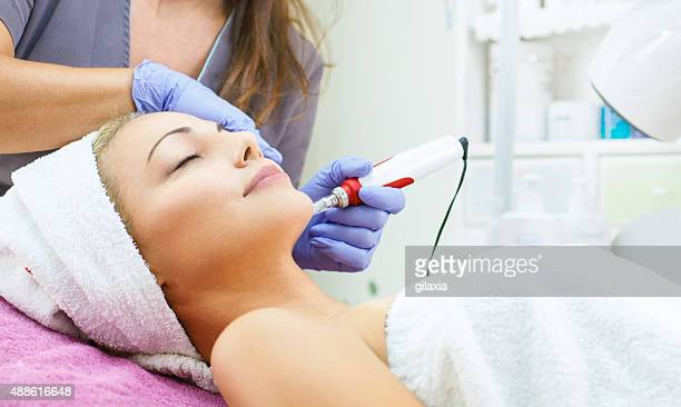 Mesotherapy treatment.