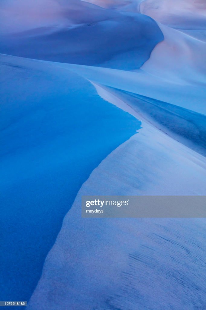 Mesquite Sand Dunes Death Valley Stock Photo - Getty Images