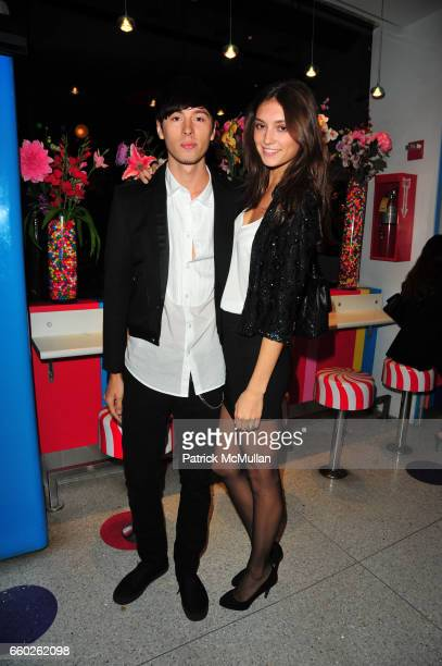 Mess Kid and Anna Schilling attend ASSOCIATION to BENEFIT CHILDREN hosts COCKTAILS IN CANDYLAND at Dylan's Candy Bar on June 18 2009 in New York City