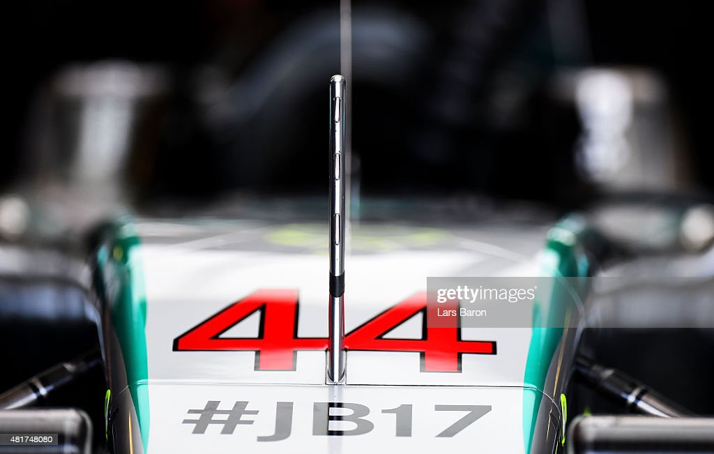 F1 Grand Prix of Hungary - Practice : Nyhetsfoto