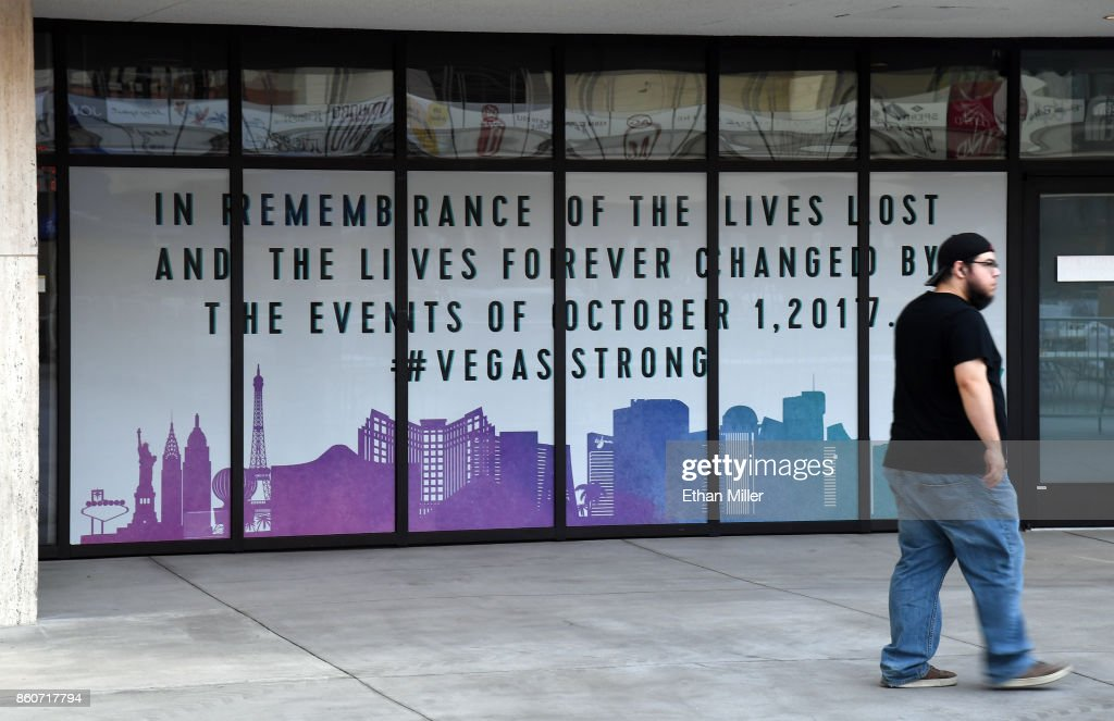 Zappos Offers To Cover Funeral-Related Costs For Victims Of Largest Mass Shooting In U.S. History : News Photo