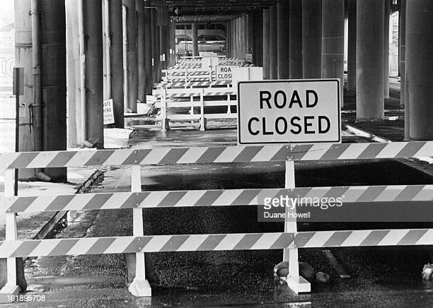 FEB 27 1979 FEB 28 1979 Message Is Perfectly Clear As workmen begin the renovation on the elevated portion of Interstate 70 this section of 46th...