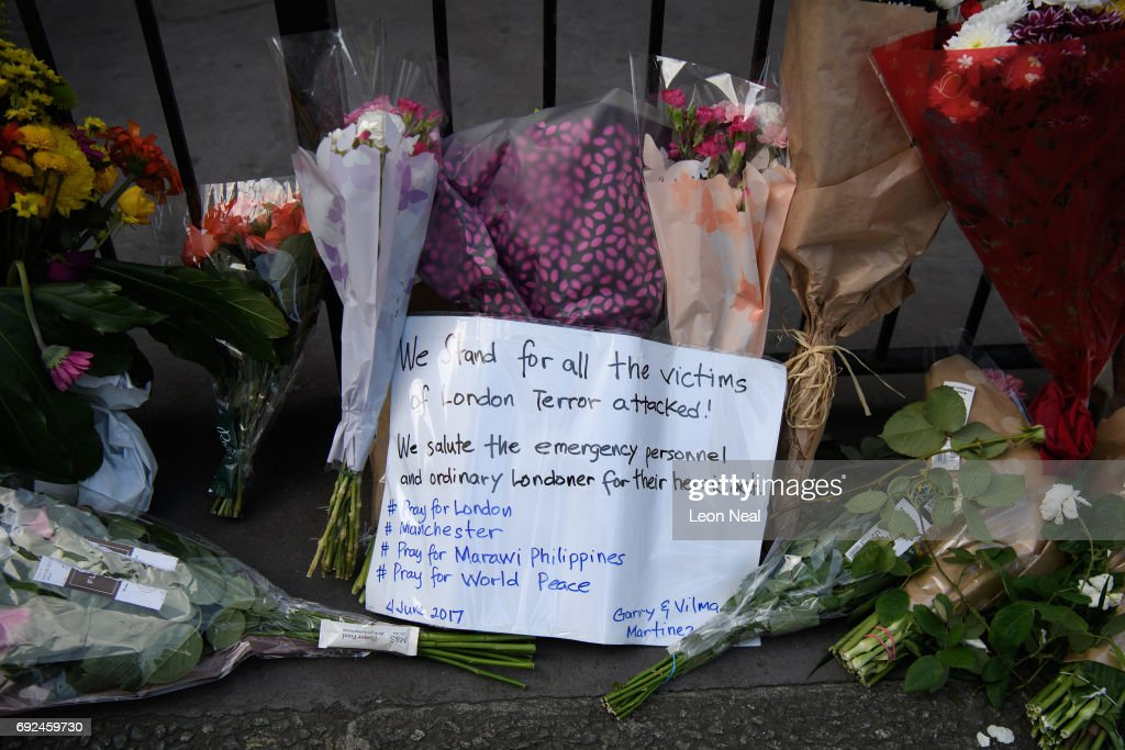 Aftermath Of The London Bridge Terror Attacks : News Photo