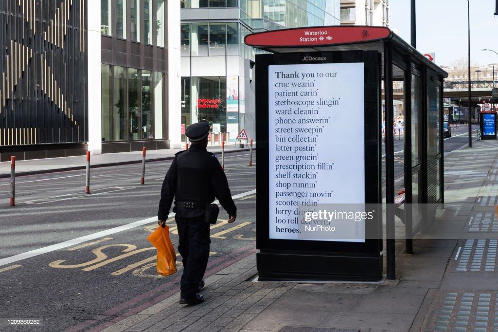 Coronavirus Crisis In London : News Photo