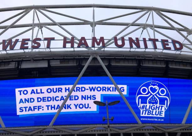 GBR: West Ham United v Burnley - Premier League