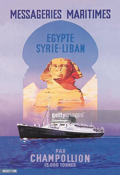 Messageries Maritimes EgyptSyriaLebanon Cruise Line