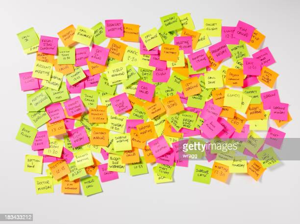 Messages on Postit Notes