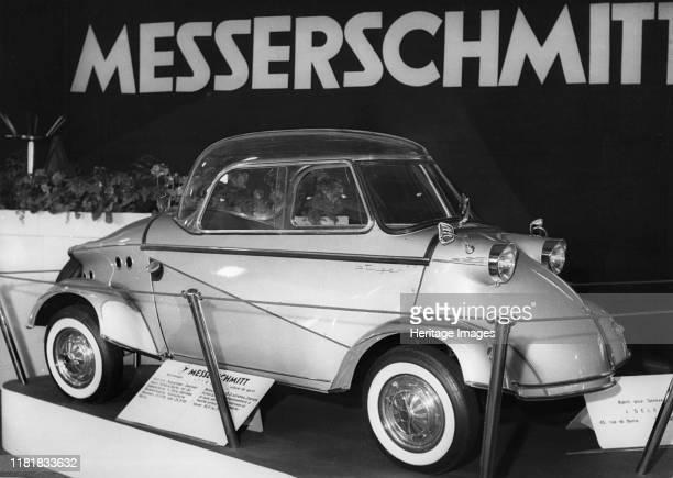 Messerschmitt at Geneva show 1958 Creator Unknown