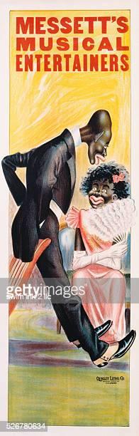 Messett's Musical Entertainers Poster
