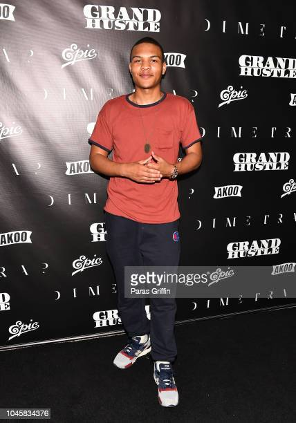 "Messiah Harris attends T.I.'s ""Dime Trap"" Private Album Release Party at The Trap Museum on October 4, 2018 in Atlanta, Georgia."