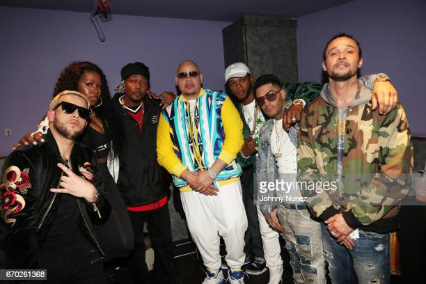 Messiah Remy Ma Krayzie Bone Fat Joe Papoose Tony Sunshine and Bizzy Bone attend Pretty Lou's Birthday Charity Celebration Hosted By Fat Joe at...