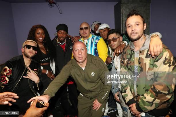 Messiah Remy Ma Krayzie Bone Steve Lobel Fat Joe Papoose Tony Sunshine and Bizzy Bone attend Pretty Lou's Birthday Charity Celebration Hosted By Fat...