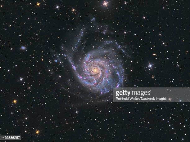 Messier 101, the Pinwheel Galaxy.