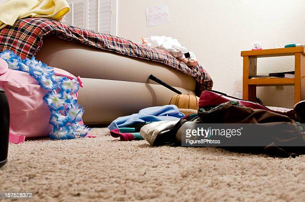 Messiness in the bedroom