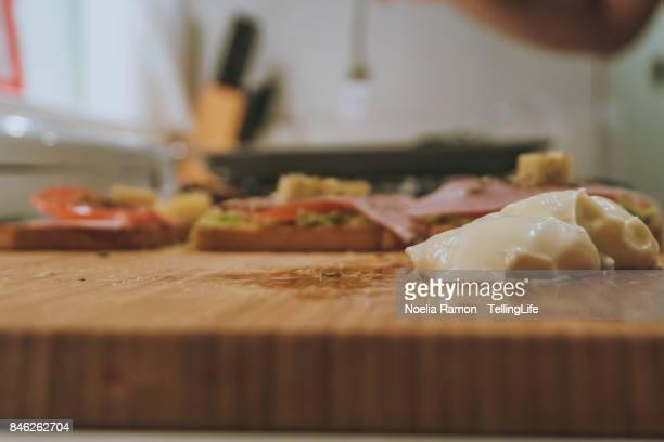 Messthetics: spanish food preparation (Tapas style) and mess