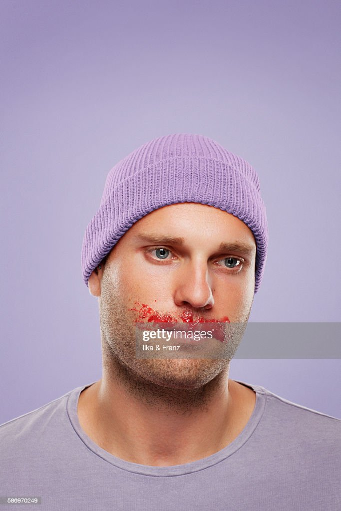 Messy Eaters : Stock Photo