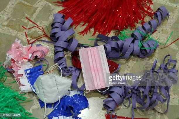 messy party floor in pandemic times - cleaning after party stock pictures, royalty-free photos & images