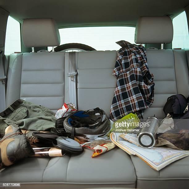 Messy vehicle seats