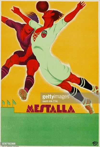 Mestalla Spanish Soccer Poster