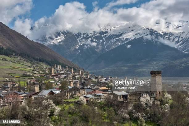Mestia, Svaneti region, Georgia