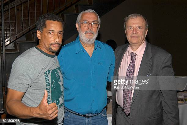 Mestre Doutor Mestre Itapoan and Russ Hoffman attend CAPOEIRA LEGADOS AND ACCOMPANIED LITERARY SOCIETY Book Party For The Saga of Mestre Bimba at...
