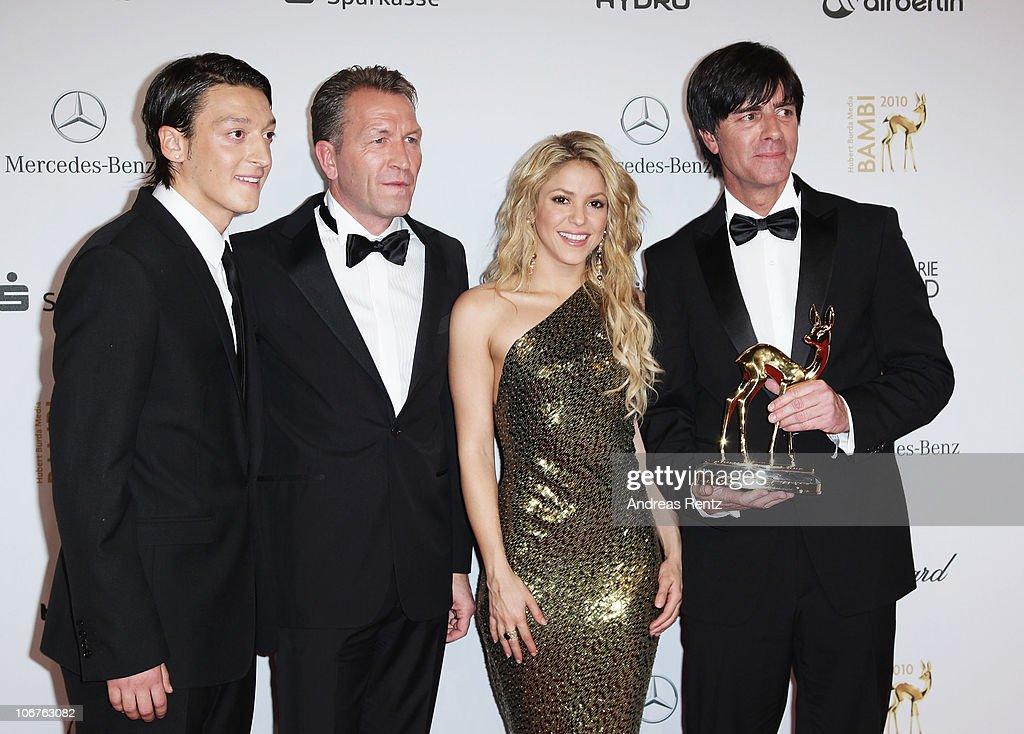 Bambi 2010 - Winners Board