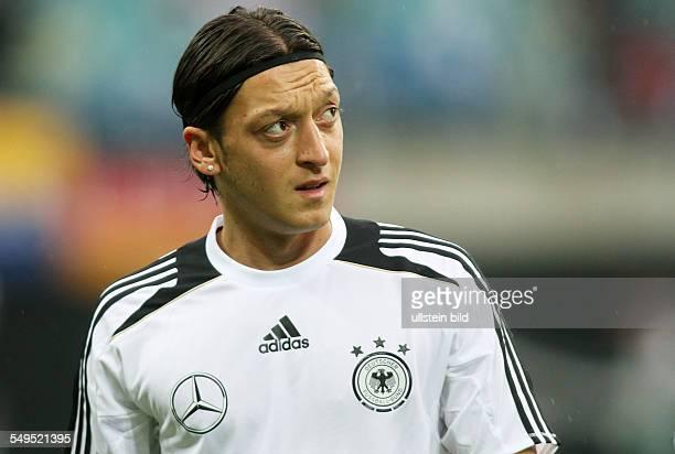 Mesut Oezil Özil, Einzelbild, Aktion , GER Deutschland, Sport, Fußball Fussball, Leipzig, Herren, DFB, Laenderspiel Länderspiel, Test,...