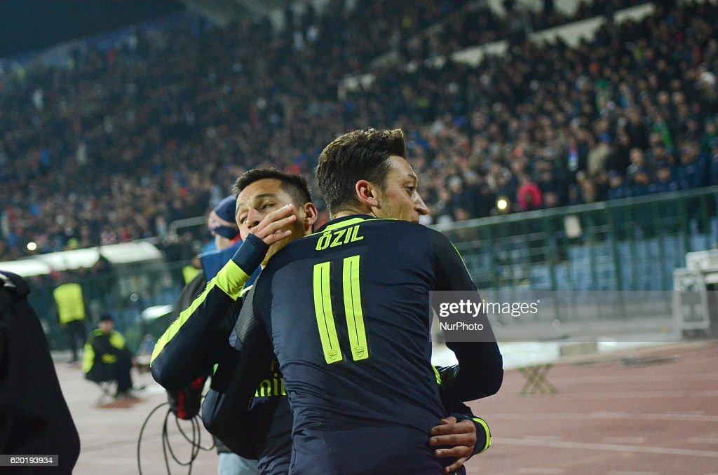 Ludogorets Razgrad v Arsenal FC - UEFA Champions League : News Photo