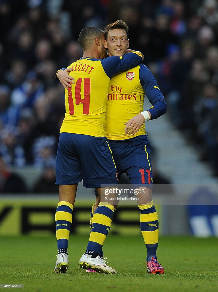 Brighton & Hove Albion v Arsenal - FA Cup Fourth Round : Nyhetsfoto